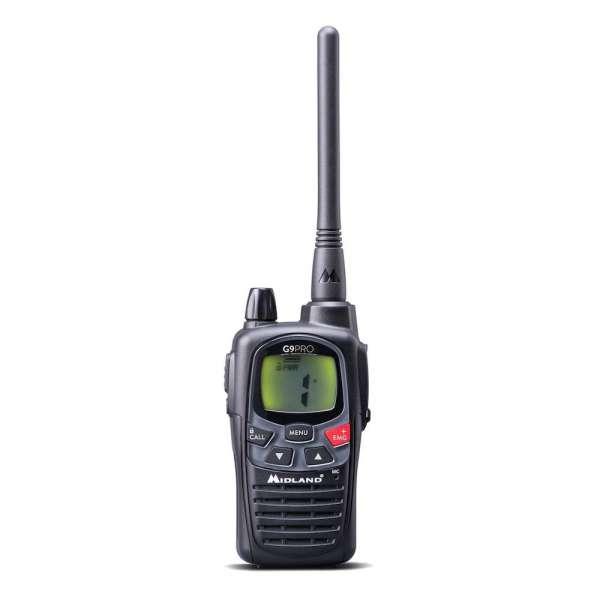 Midland G9 Pro Funkgerät - 16 PMR + 69 LPD