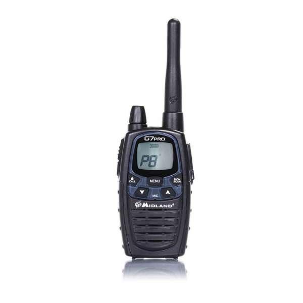 Midland G7 Pro Funkgerät - 16 PMR + 69 LPD
