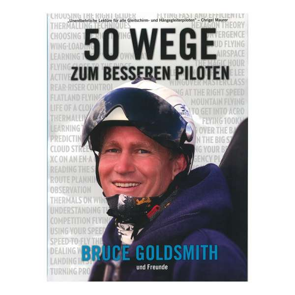 Fifty Ways to Fly Better: By Bruce Goldsmith and Friends (German)