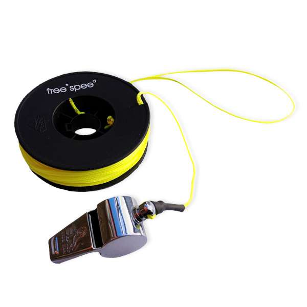 free*spee Rescue Line with Alarm Whistle