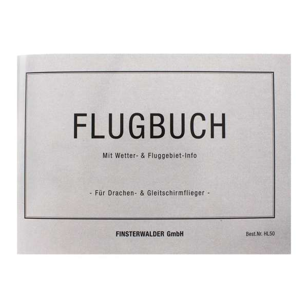 Finsterwalder Flight Book