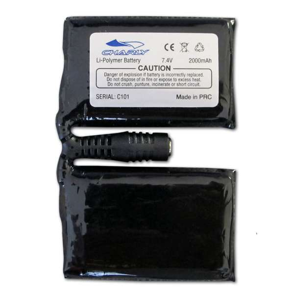 Charly Li-Ion polymer replacement battery for heated gloves